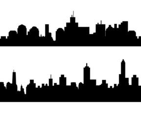 City Skyline Set-vector