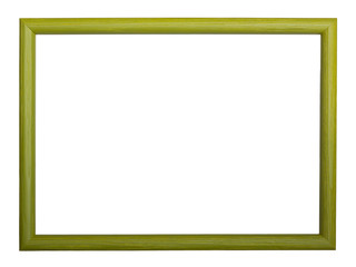 Classic green wooden frame