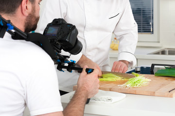 Making of kitchen show