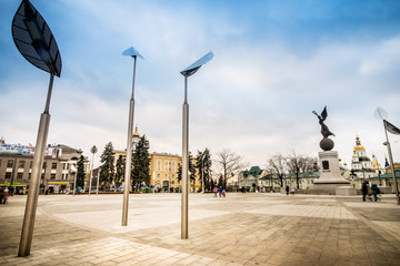 Constitution Square in Kharkiv