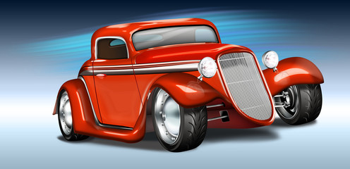 Hot Rod ,american Oldtimer tuned