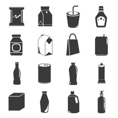 box icons, packaging icons
