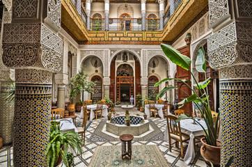 Canvas Prints Morocco Moroccan Interior