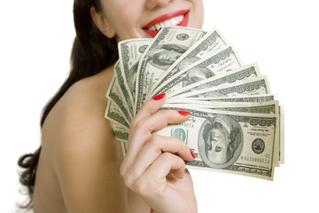 Whoredom, Prostitution – the oldest profession sexy woman on a w