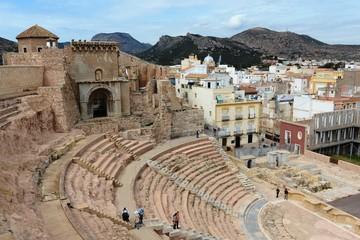 Antique amphitheater in Cartagena