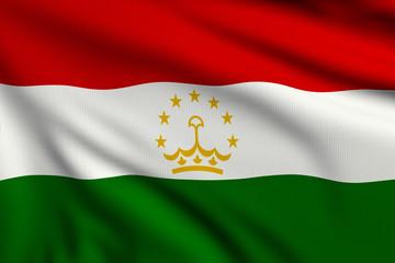 Flag of Tadjikistan