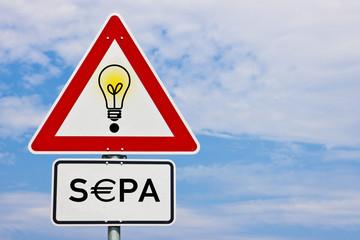 Bankverbindung SEPA