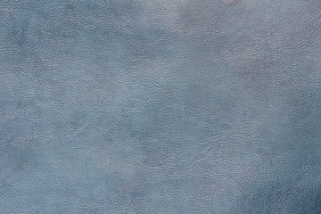 Abstract blue leather texture background