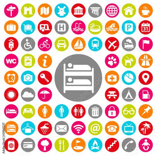 u0026quot icones  vacance et tourisme u0026quot  fichier vectoriel libre de droits sur la banque d u0026 39 images fotolia