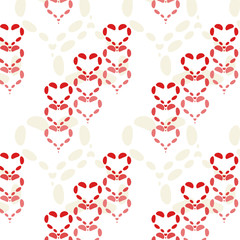 Hearts - seamless vector pattern