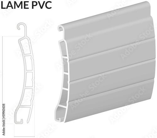 05 01 2014 coupe lame volet pvc imagens e vetores de. Black Bedroom Furniture Sets. Home Design Ideas