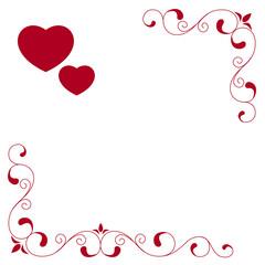 Valentine's day's card