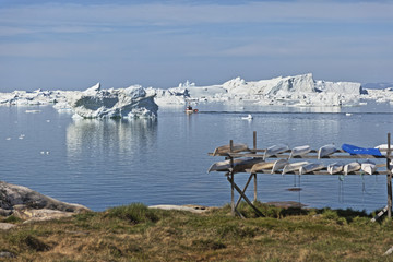View from Ilulissat.
