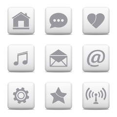 Communication buttons