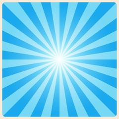 white rays background