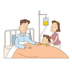 家族の入院