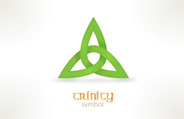 Trinity symbol, triqueta