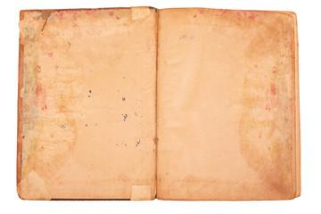old bound paper