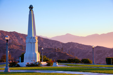 Astronomers Monument in Griffith Park