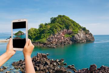 Take photo island