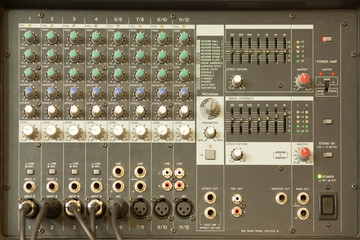 sound mixing equipment