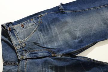 Jeans particolare gamba