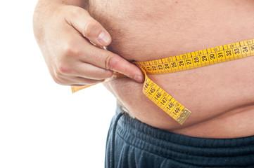 waist fat man