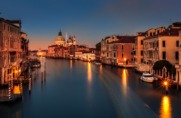 Fototapete - Grand Canal at dusk