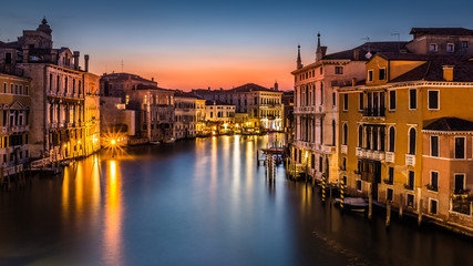 Fototapete - Grand Canal at sunset