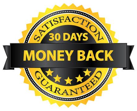 30 Days Money Back Guaranteed Badge