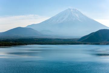 Motosu lake Fujisan Japan