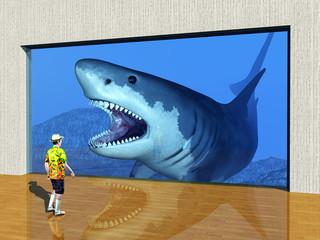 Der Besuch im Aquarium
