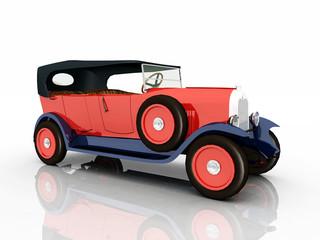 Französisches Automobil aus den 1920er Jahren