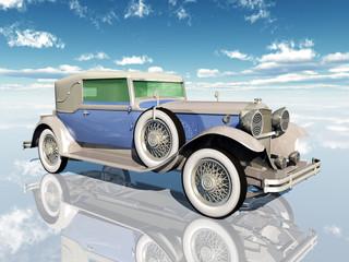 Amerikanisches Automobil aus den 1930er Jahren