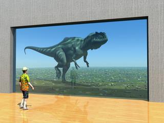 Dinosaurier im Tierpark
