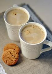 Aromatic morning coffee