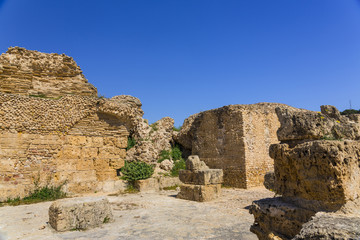 Old Carthage ruins