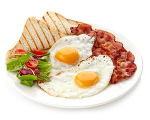 Fond de hotte en verre imprimé Ouf Breakfast