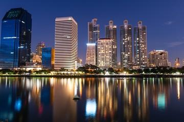 Bangkok city scape