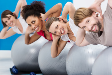 workout im fitnesscenter