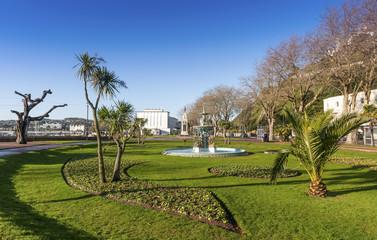 Fishy Fountain, Princess Gardens, Torquay, Devon, England
