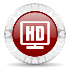 hd display valentines day icon