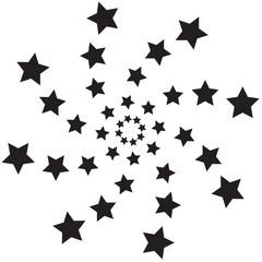 Spiral  stars