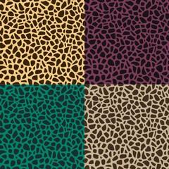 seamless animal skin leopard pattern