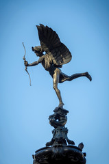 Eros Statue at Piccadilly Circus