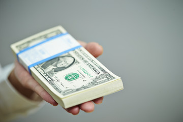 us dollar banknote