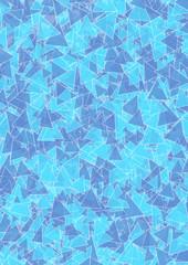 Hintergrund hellblaue blaue Dreiecke