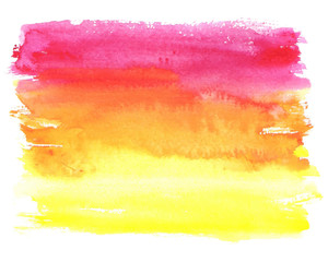 Watercolor spot abstract background
