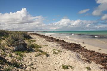 The Nullarbor coast in Western Australia