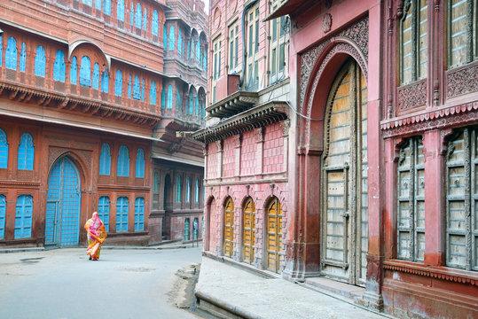 Rampuriya Haveli in Bikaner,India
